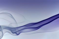 Détail bleu abstrait de fumée Images libres de droits