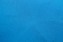 Détail bleu de tissu Photos stock