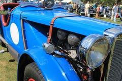 Détail britannique de voiture de course des années 1940 classiques Photos libres de droits