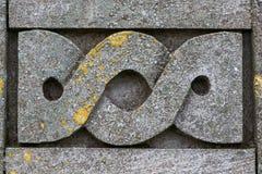 Détail celtique de symbole de conception images libres de droits