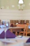 Détail classique élégant de restaurant Images libres de droits