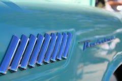 Détail classique d'Americana Ford Thunderbird image stock