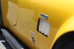 Détail classique de voiture de muscle Photographie stock