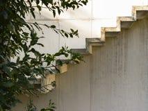 Détail concret d'escaliers Image stock