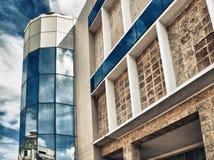 Détail cubain de bâtiment de Musée d'Art à La Havane, Cuba Image libre de droits