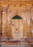 Détail décoratif de palais de Mandir dans Jaisalmer, Inde Images stock