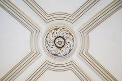 Détail décoratif de plafond Photographie stock libre de droits
