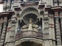 Détail d'église antique à Lima photo libre de droits