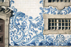 Détail d'église de Carmo à Porto Photos libres de droits