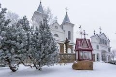 Détail d'église de Laukuva Image libre de droits