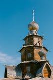 Détail d'église de transfiguration dans la vieille ville russe de Suzd Images stock