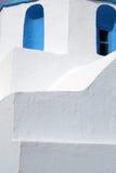 Détail d'église - Paros, Grèce Image stock