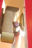 Détail d'électrode de soudure Photo stock