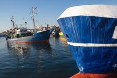 Détail d'abrégé sur nez de bateau Photos libres de droits