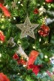 Détail d'arbre de Noël Images stock
