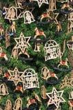 Détail d'arbre de Noël Photo libre de droits