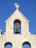 Détail d'architecture, cathédrale de Saintes-Maries-de-la-Mer, France images stock