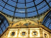 Détail d'architecture italienne classique Photo stock