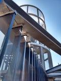 Détail d'ascenseur à Carthagène images stock