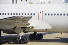 Détail d'avion de ligne Photo libre de droits