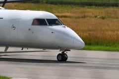 Détail d'avions de banlieusard Photos stock