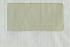 Détail d'enveloppe Photographie stock
