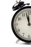 Détail d'horloge d'alarme Photos libres de droits