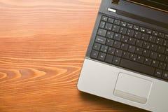 Détail d'ordinateur portable Images libres de droits