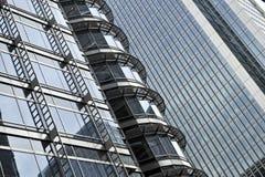 Détail d'un bâtiment d'horizon Photos libres de droits