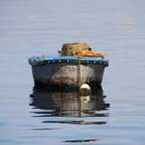 Détail d'un bateau dans la baie de la Havane photos stock