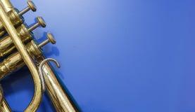 Détail d'un cornet Photos libres de droits