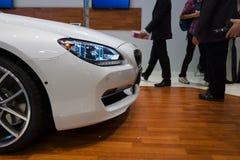 Détail d'un coupé exécutif de mamie de BMW 640i de coupé Photos stock