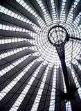 Détail d'un dôme dans Postdammer Platz, Berlin Images stock