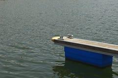 Dock flottant Photographie stock libre de droits