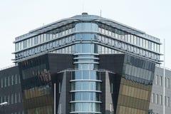 Détail d'un immeuble de bureaux moderne  Image libre de droits