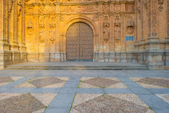 Détail d'un monastère dominicain à Salamanque photo stock