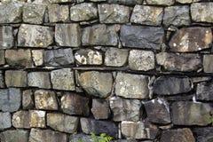 Détail d'un mur chez Hardknott Roman Fort Photo stock