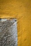 Détail d'un mur coloré Photographie stock libre de droits