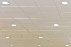 Plafond avec la foudre Photo libre de droits