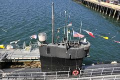 Détail d'un sous-marin américain Images libres de droits