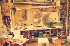 Détail d'un studio de rue Photographie stock