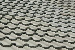 Détail d'un toit carrelé photographie stock libre de droits