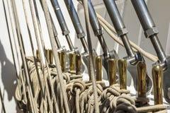 Détail d'un voilier Photographie stock libre de droits