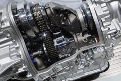 Détail d'une boîte de vitesses de véhicule photographie stock libre de droits