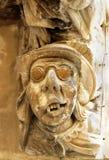 Détail d'une décoration baroque en Sicile image stock