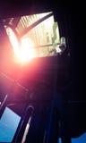 Détail d'une fenêtre de phare Photo libre de droits