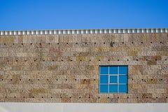 Détail d'une fenêtre sur un bâtiment photos libres de droits