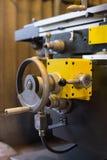 Détail d'une machine de tour Image libre de droits