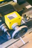 Détail d'une machine de tour Photographie stock