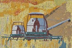 Détail d'une mosaïque Photo libre de droits